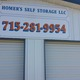 Homer's Self Storage - Self-Storage Unit in Wild Rose, WI